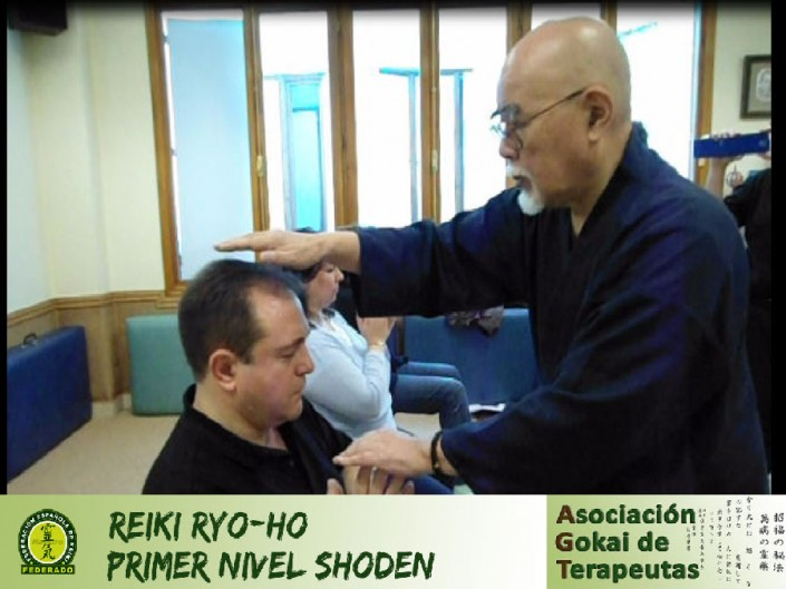 REIKI ON-LINE, NIVEL 1 SHODEN